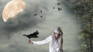 The Halloween Raven