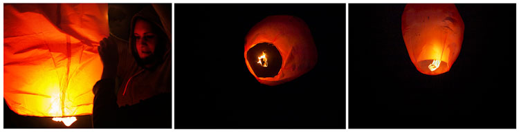 Sky Lanterns … and Tangential Links to Wildlife